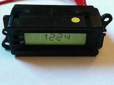 Land Rover Freelander 8 pin  Green Display Clock YFB100380 / XQH100102 *Tested *