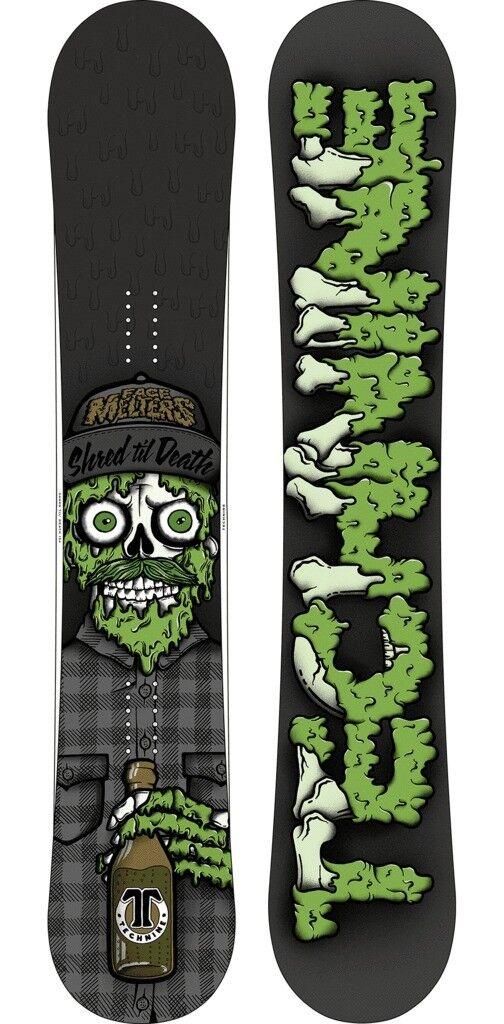 Nuovo Technine Std Brandello Til Death Snowboard Snowboard Snowboard 160cm Larghe Nere   verde | nuovo venuto  dc71d7