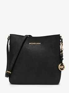 Image Is Loading Michael Kors Jet Set Travel Large Black