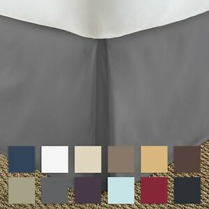 Premium-Luxury-Bed-Skirt-Dust-Ruffle-The-Hotel-Collection