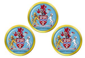 Herefordshire-Angleterre-Marqueurs-de-Balles-de-Golf