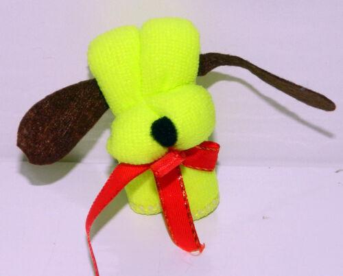 Gästetuch Waschlappen Geschenk Tuch  Hund pink rot kiwi braun