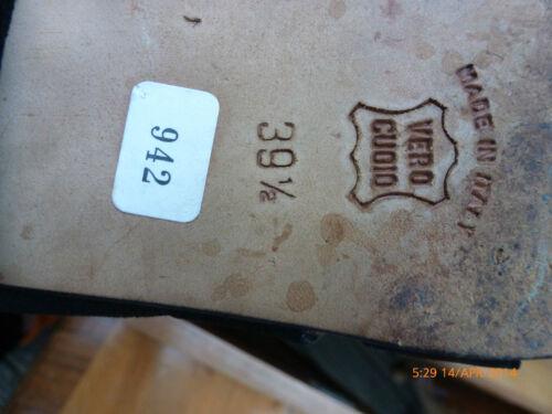 appena indossati A e scarpe '80 pelle vintage Terre scamosciata belli in Sandali anni Pied d7qPgYOqw
