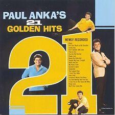 Paul Anka's 21 golden hits (1963) [CD]