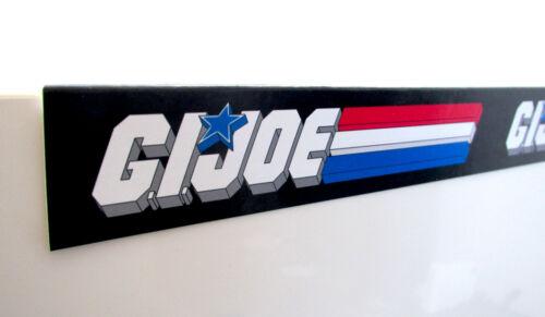 G.I.JOE GI JOE VINTAGE STYLE logo SHELF TALKER SET OF 4