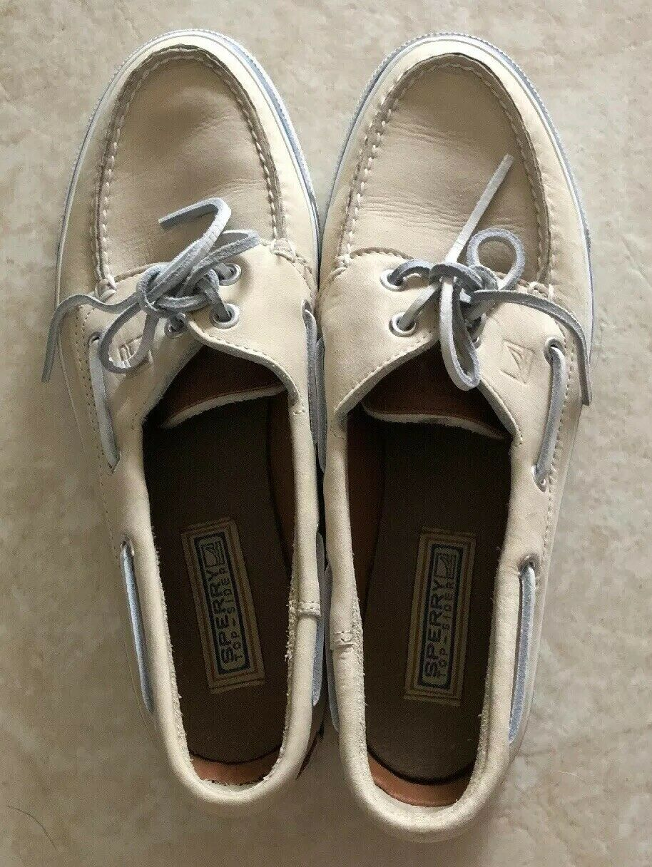 Sperry Top Sider Mens White Size 11
