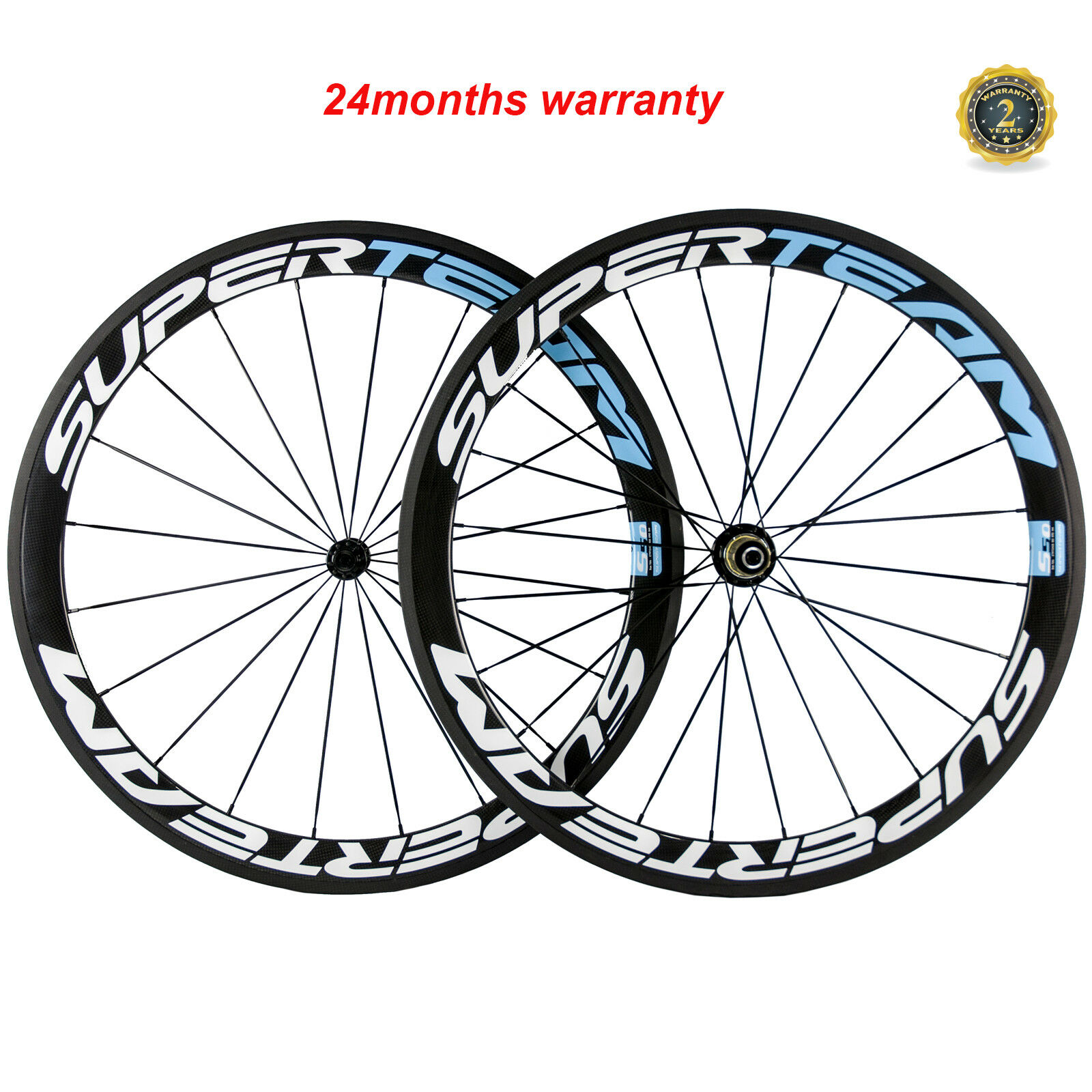 SUPERTEAM Full Carbon Road Cycling Wheelset  23mm Width 50mm Clincher Wheels R13  fashion brands
