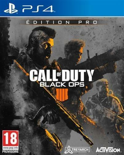 CALL OF DUTY BLACK OPS IIII EDITION PRO PLAYSTATION 4 PS4 NEUF (vendeur pro)