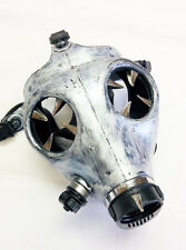 Cyber Punk Industrial Goth Rave Gas Mask Spiked #33989