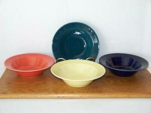Homer-Laughlin-China-COLOURS-7-1-4-034-Bowl-Glazed-in-Fiesta-Yellow-ONLY