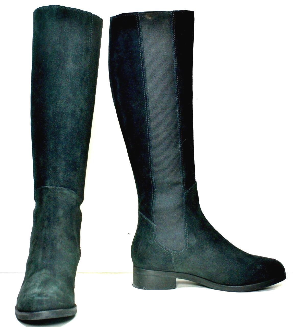 Cole Haan Mujer botas Tamaño 5.5 B Negro Gamuza Gamuza Gamuza Montar Rodilla Alta (20)  nueva marca