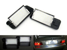 2x No Error License Plate LED Light For BMW E36 318i 63261387047 OEM Replacement