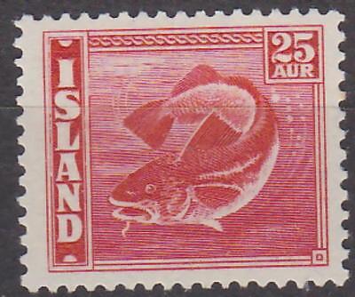 **mnh** Gutherzig Island Iceland 1940 Freimarke Fish Mi.: 216b 160,- Eur Neueste Technik