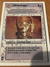 Rare Card Star Wars CCG Premiere Black or White Border Tatooine Cantina LS