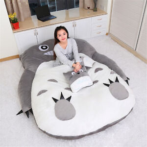 Image Is Loading Anime Huge Totoro Sleeping Bag Soft Plush Large