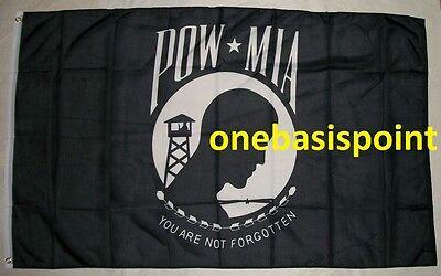 3X5 POW MIA Prisoner of War In Shackles Flag 3/'x5/' Banner USA SELLER