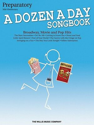 A Dozen a Day Songbook Preparatory Book Mid-Elementary Level Book NEW 000416859