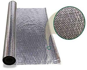 1000 sqft Diamond Radiant Barrier Solar Attic Foil Reflective Insulation 4x250