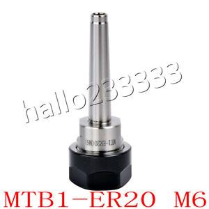 ER20 M6  Chuck Holder Morse Taper for ER20 Milling Collet Chuck Holder MT1 MT1