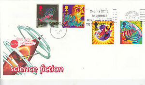 wbc-GB-FIRST-DAY-COVER-FDC-FATHERS-DAY-SLOGAN-1995-SCIENCE-FICTION