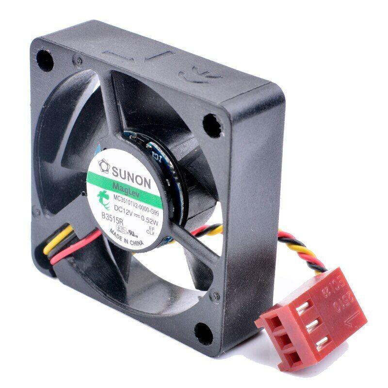 SUNON MC35101V2-0000-G99 3.5cm 3510 35x35x10mm DC12V 0.52W 3PIN cooling fan