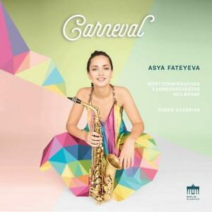 CARNEVAL-FATEYEVA-ASYA-WURTTEMBERGISCHES-KAMMERORCHESTER-CD-NEW