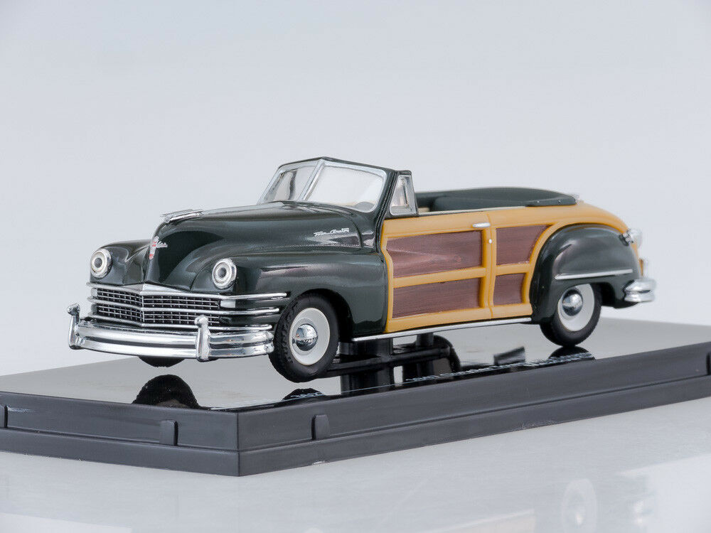 1 43 Scale model 1947 Chrysler Town & Country (Meadow Green)