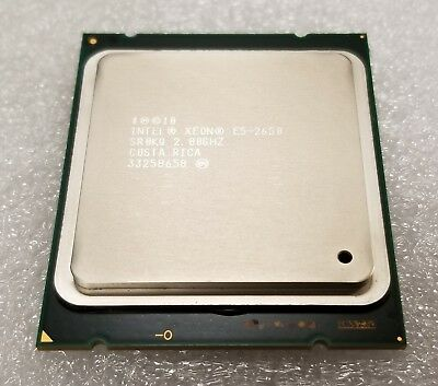 20M cache 2.0Ghz Service /& Parts Avai Qty.1 Intel Xeon E5-2650 8 Core SR0KQ