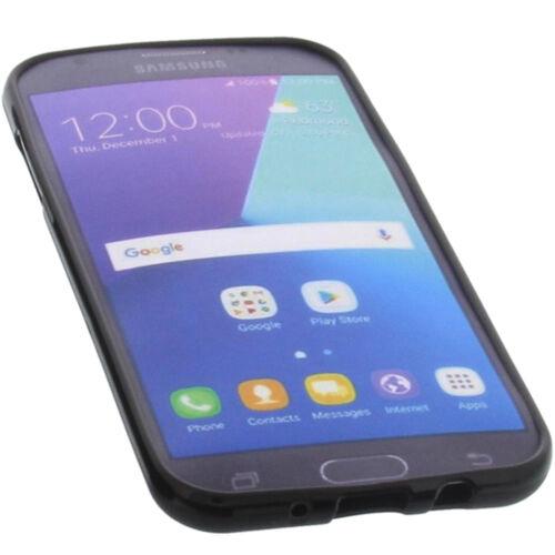 Bolso para Samsung Galaxy j3 2017 Funda protectora móvil TPU goma funda negra