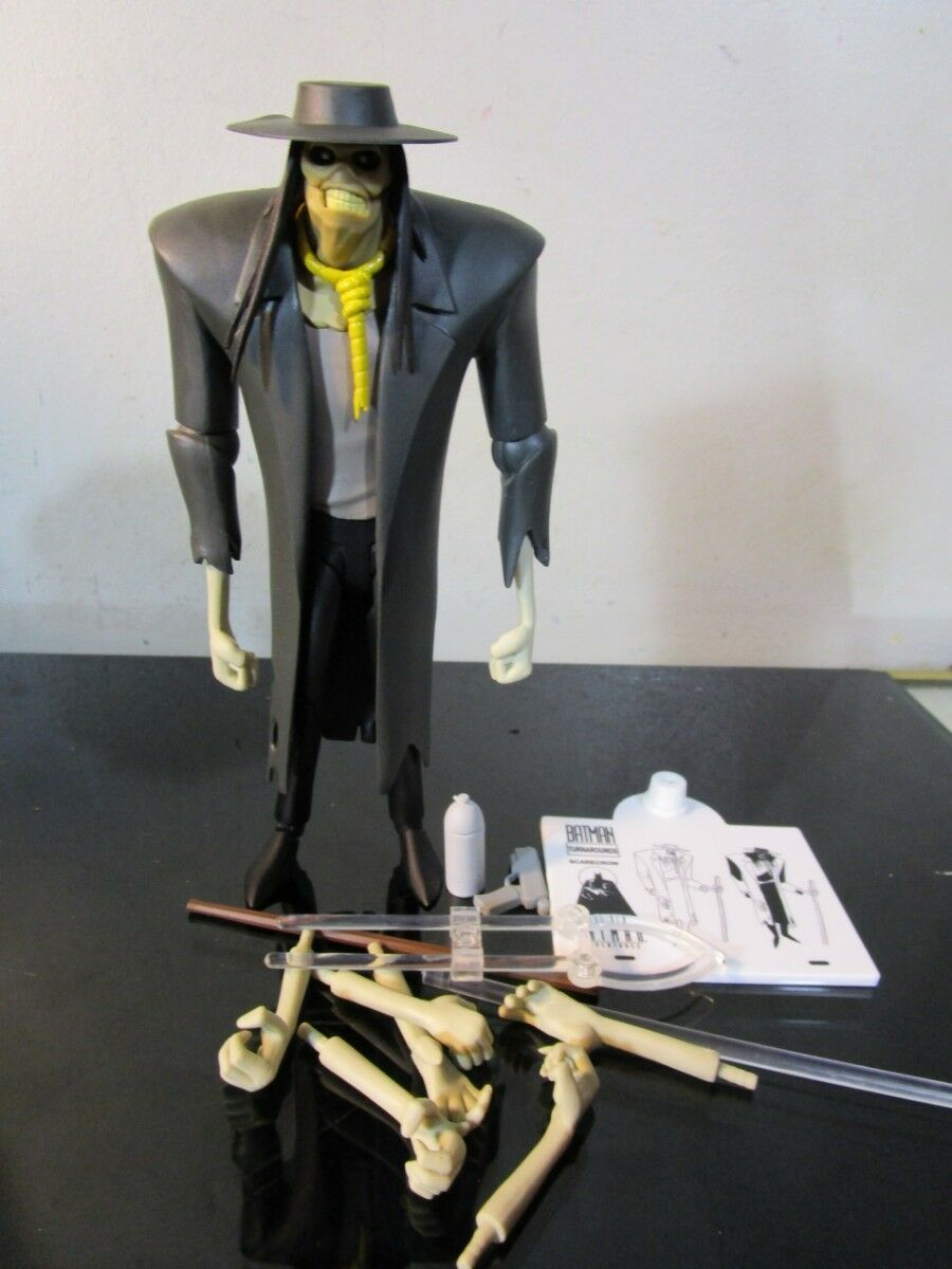 DC Collectibles The New Batman Adventures  Scarecrow Action Figure LOOSE