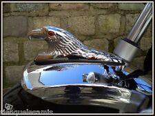 Tête d'Aigle en Métal ornement garde boue moto custom ou trike Couleur Chrome