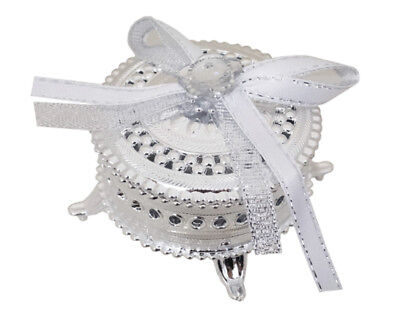 12 Fillable Round Favor Box Wedding  Decoration Recuerdos Bautizo Quinceanera