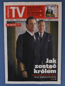 COLIN FIRTH & GEOFFREY RUSH mag.FRONT cover Harrison Ford,James Keziah Delaney - europe, Polska - Zwroty są przyjmowane - europe, Polska
