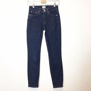 J-Crew-Womens-Blue-Toothpick-Skinny-Jeans-Size-25