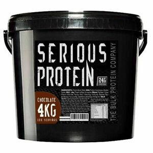 Serious-Whey-Protein-Powder-amp-Casein-Blend-4kg-Lean-Muscle-Complex-Amazing-Value