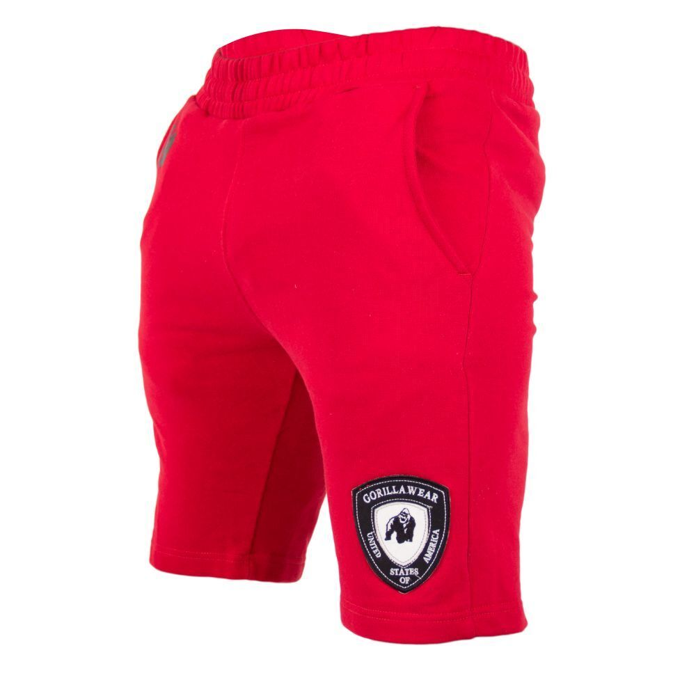 Gorilla Wear Los Los Wear Angeles SWEAT SHORTS rosso c13add