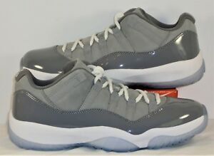 7cbd34cd2cbb Nike Air Jordan XI 11 Retro Low Medium Grey   Gunsmoke Sz 10.5 NEW ...