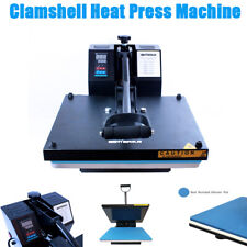 15 X 15 Clamshell Heat Press Machine Diy T Shirt Sublimation Digital Transfer