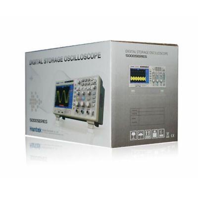 "Hantek DSO5102P Digital Oscilloscope 2CH 100MHz 1Gs 7"" TFT 8-bit 4nS/div-40S/di"