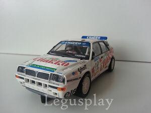 Slot-SCX-Scalextric-Altaya-Lancia-HF-Integrale-034-Rally-Costa-Brava-1992-034-J-Puras