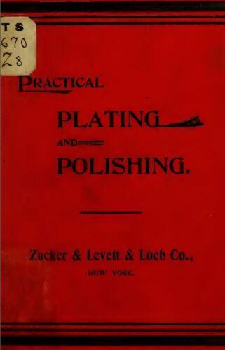 Electroplating Electrometallurgy Metal Plating Gold Silver Copper Books CD V73