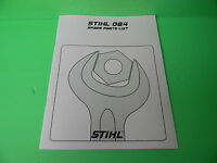 Stihl Chainsaw 084 084av Parts List ---- Man107