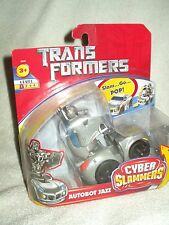 Transformers Action Figure Movie Cyber Slammers Jazz 4-5 inch