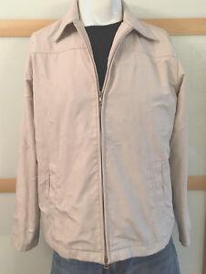 Esprit-edc-Jacke-Authentic-Brand-Jacket-leichte-Jacke-Gr-M-sandfarben