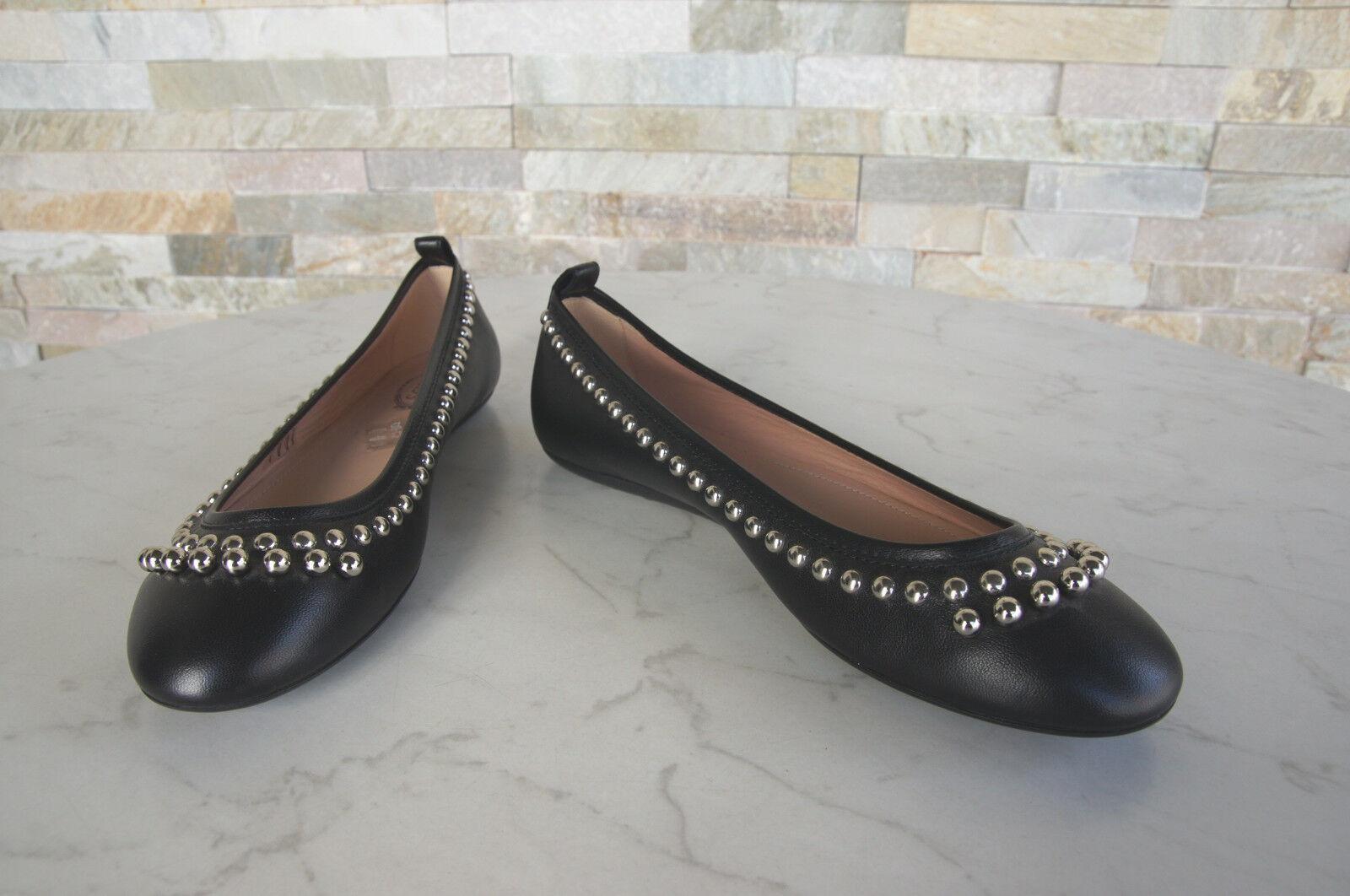 Tods Tods Tods Tod´s Gr 37,5 Ballerinas Slipper Halbschuhe Schuhe schwarz neu d5a52f