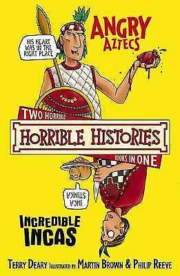 """VERY GOOD"" The Angry Aztecs AND the Incredible Incas (Horrible Histories), Dear"