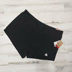 Reebok Women's Running Shorts Size XL Speedwick 2-In-1 Shorts Black MSRP $45