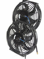 Electric Fan Relay Kit & 2-10 Fans,push Or Pull,mounting Kit Included,pre Set