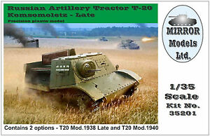 Mirror-Models-1-35-Russian-Artillery-Tractor-T20-35201