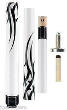 Valhalla by Viking VA203 White Cue with Graphics 13.00mm Shaft - FREE JT. CAPS
